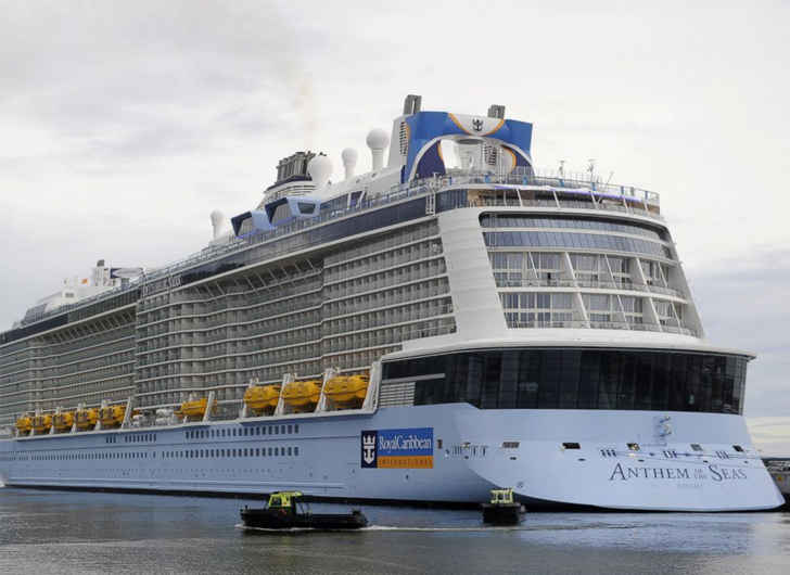 Passengers Aboard Royal Caribbean Cruise Ship Post Videos of Terrifying Swells and Damage