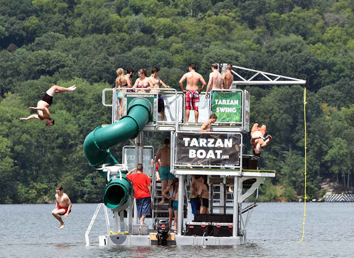 Turn Heads on the Water with the Tarzan Boat