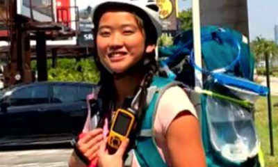 Woman Completes Epic Journey Across Country on Rollerblades