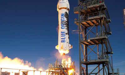 Jeff Bezos' Blue Origin Tests its Tourism Spaceship