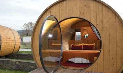 You Can Now Vacation Inside a Massive Wine Barrel