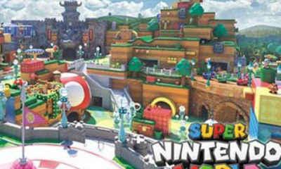 Super Nintendo World Coming to Orlando!