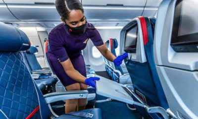 Delta Increases Cleaning Staff, Vows to Keep Middle Seats Empty Until 2021